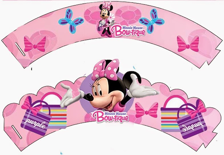 Kit de Minnie Boutique para Imprimir Gratis. | Ideas y material ...