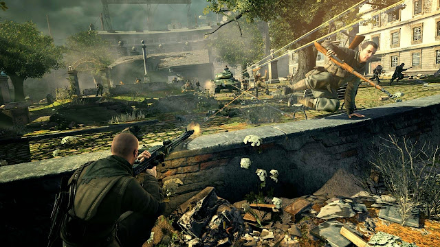 Sniper Elite V2 Full Version PC Gameplay 2