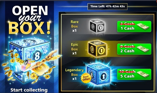 8 Ball Pool 4.3.1 Version ( 6 Level Mod ) + Backup Data For Legendary Box Trick