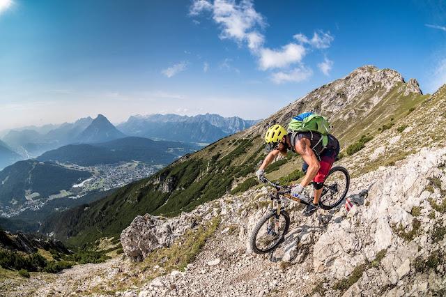 Oberland Innsbruck Mountainbike Tour Reither Spitze Seefeld