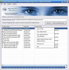 Nsasoft Backup Key Recovery v2.2.1.0 Portable