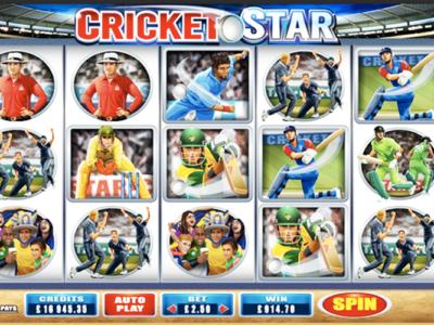 Play Cricket Star Slots