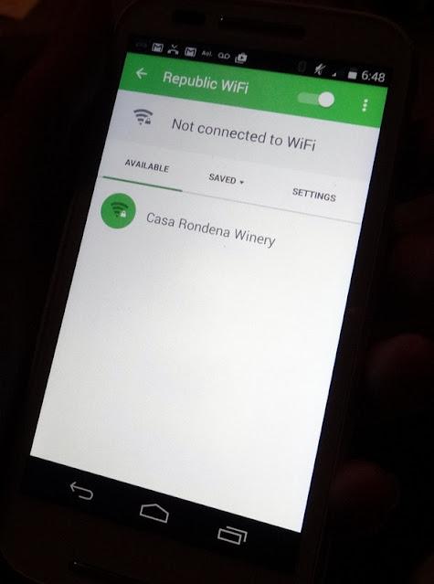 No free wi-fi
