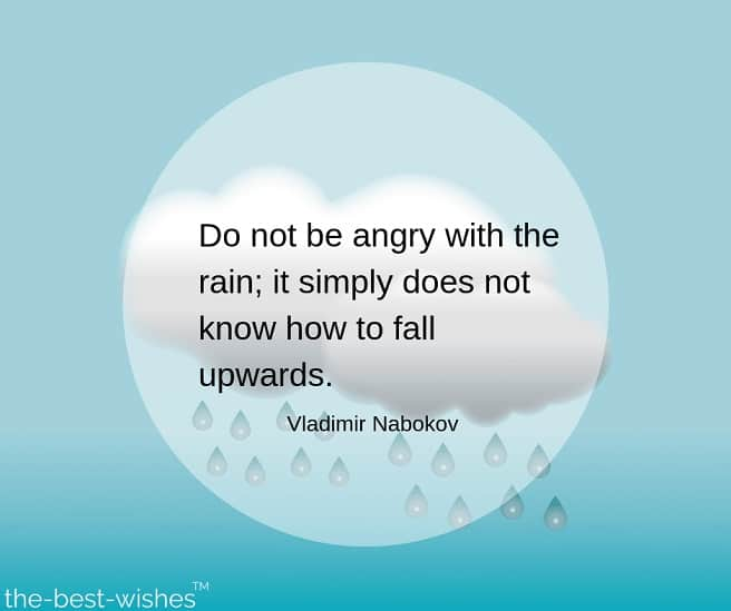 rainy day good morning quotes by vladimir nabokov