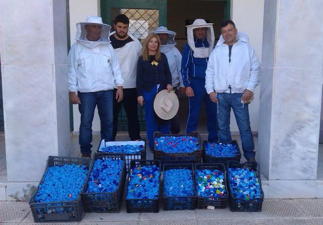 Δράση συλλογής πλαστικών πωμάτων από το ΔΙΕΚ Επιδαύρου
