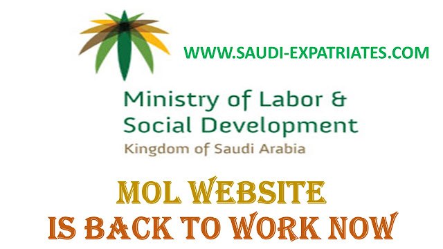 MOL WEBSITE IS BACK TO WORK NOW