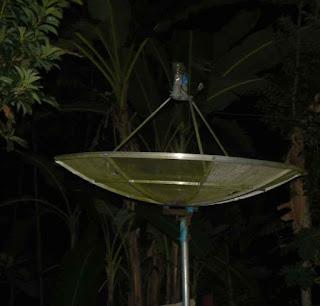 Belajar Tracking Antenna Parabola - Citro Mduro