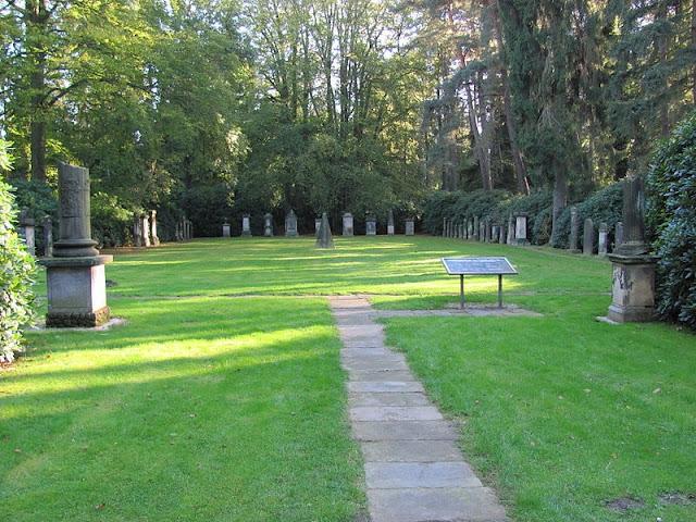 Cemitério de Ohlsdorf em Hamburgo