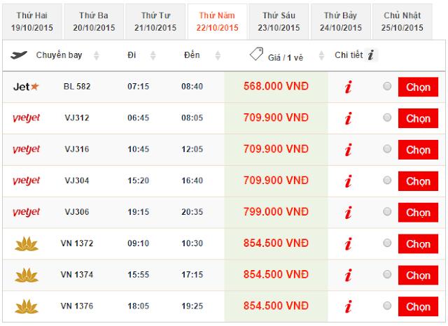 Kinh nghiệm đặt vé máy bay từ TPHCM đi Huế giá rẻ