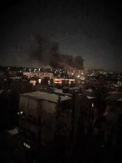 El régimen de Israel ataca aeropuerto militar de Damasco, capital de Siria