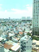 Cho thuê căn hộ studio The Manor 2 quận Bình Thạnh | goc view khác được chụp tại căn hộ