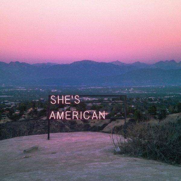 She's American