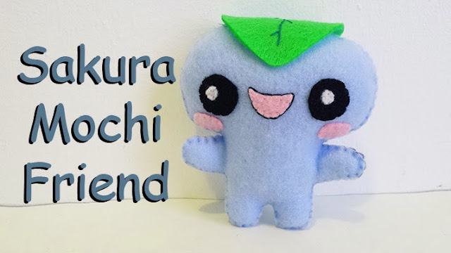 How to Make a Sakura Mochi plushie tutorial