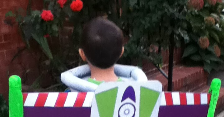 Upcycle Us Buzz Lightyear Costume For Halloween Made Of