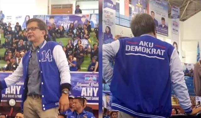 Rocky Gerung Bergabung ke Partai Demokrat