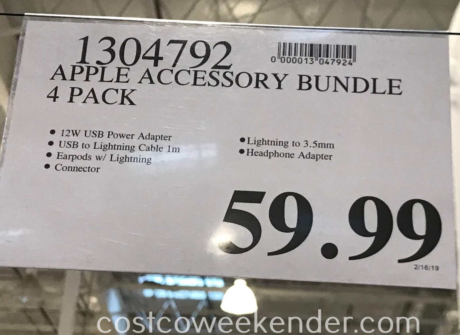 Deal for the Apple Accessory Bundle at Costco