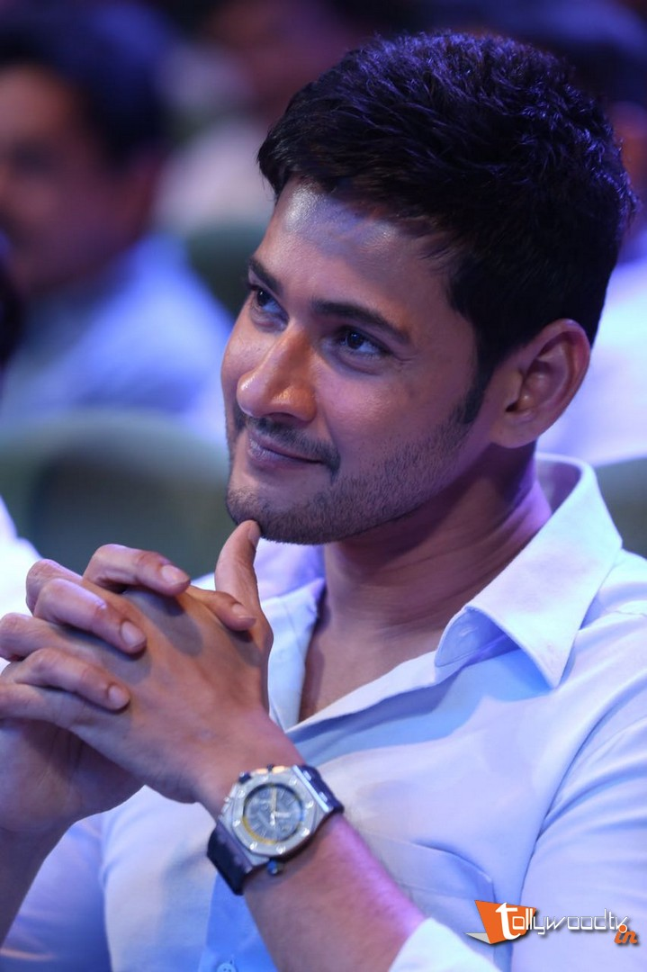 Mahesh Babu At Spyder Audio Launch-HQ-Photo-5