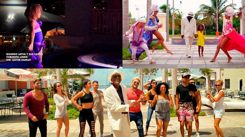 Ricardo Leyva y Sur Caribe - ¨Cubanita Linda¨ -Videoclip - Director: Lester Hamlet. Portal del Vídeo Clip Cubano