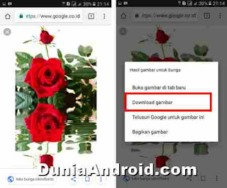 mendownload gambar animasi di google