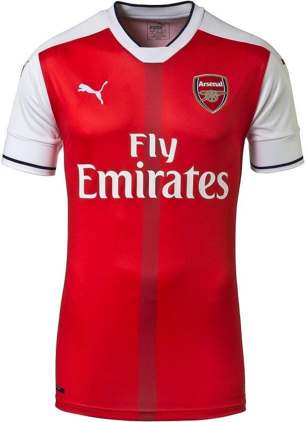 Puma divulga as novas camisas do Arsenal - Show de Camisas d27beecd90400