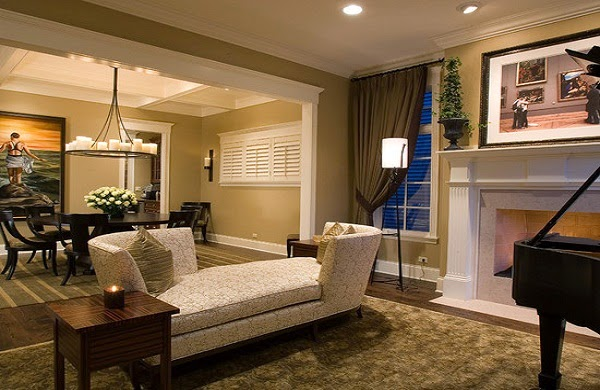 Paint ideas for living room and dining room - Living room and dining room designs ...