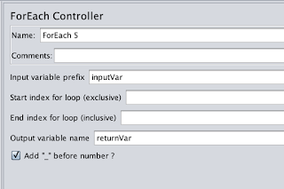 JaneJie: How to use array input parameters with ForEach Controller