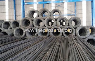 Đại lý sắt thép tại Long An