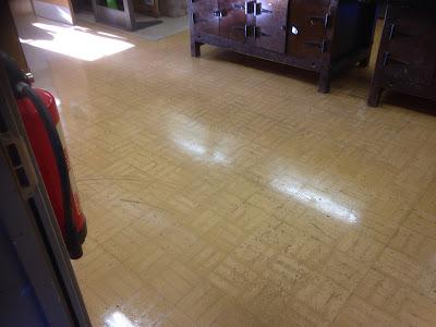 Gramwood floor in need of restoration