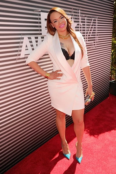 faith evans bet awards billboard 2014 400x600 Red Carpet photos from 2014 BET Awards + Full List of Winners