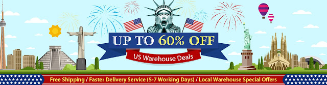 Up To 60% OFF US Warehouse Deals, Ship From US