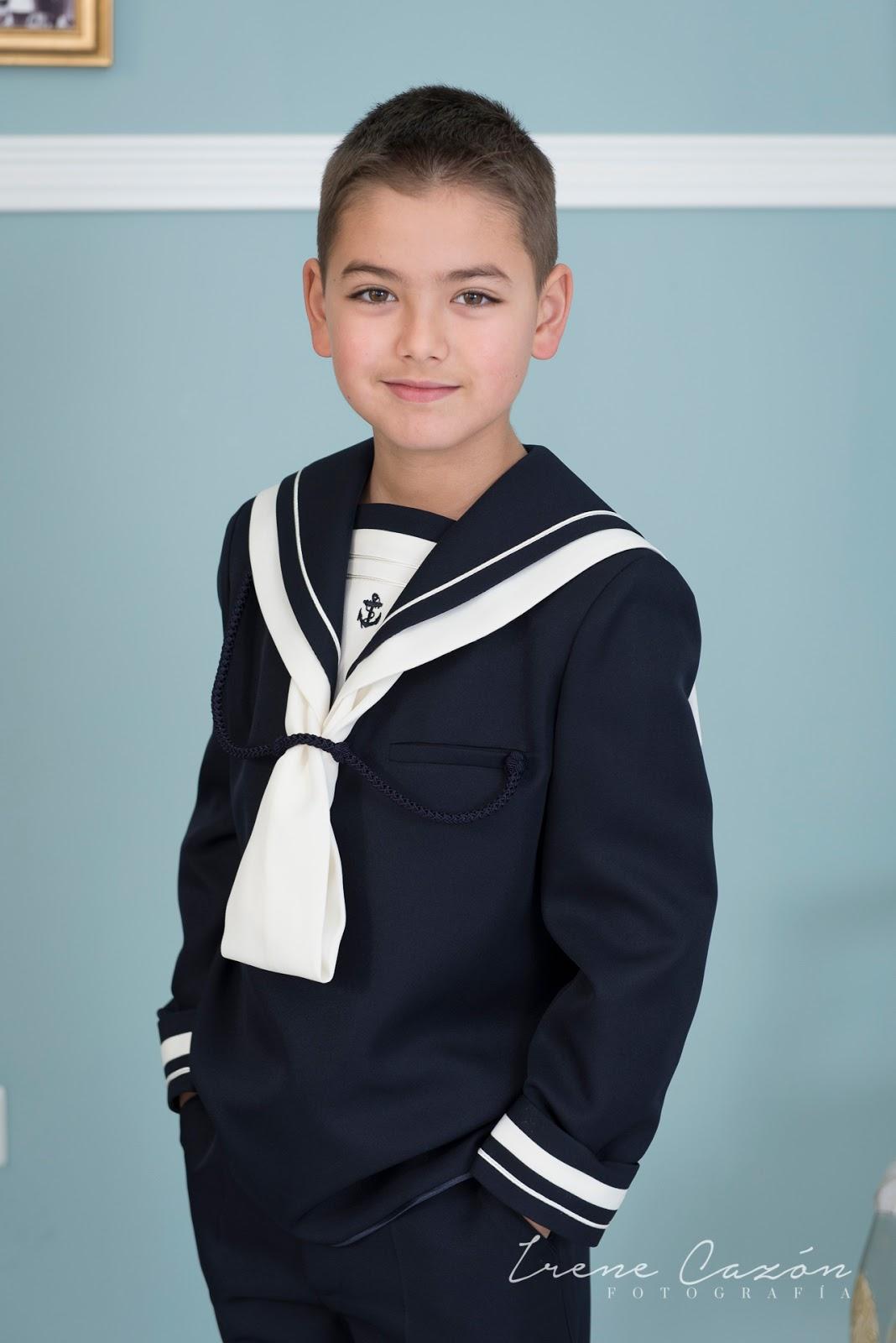 Trajes comunion marinero moderno