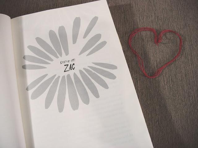 Livro Zac & Mia de A. J. Betts aberto