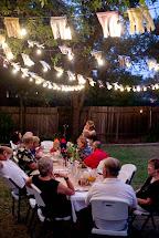 Domestic Fashionista Fall Backyard Entertaining Birthday