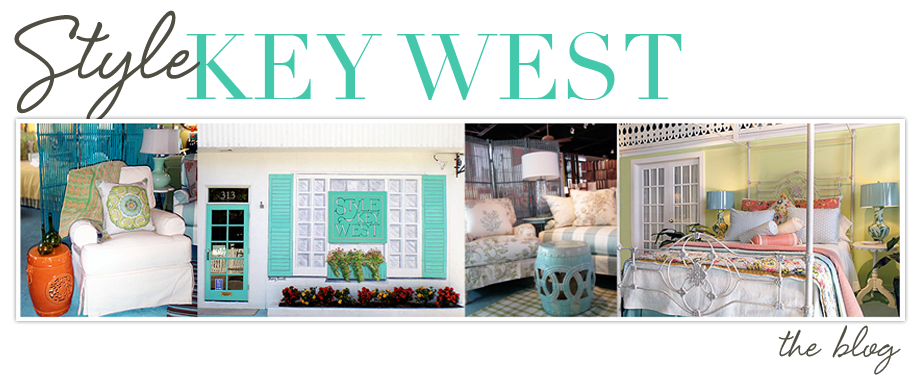 Key West Style Home Decor: Style Key West: Kate's Key West Style: Just Add Color