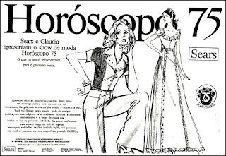 Sears; 1974;  moda feminina decada 70;  Moda anos 70; propaganda anos 70; história da década de 70; reclames anos 70; brazil in the 70s; Oswaldo Hernandez