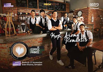Sinopsis dan Senarai Pelakon Drama My Coffee Prince