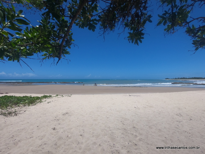 Praia de Itaquena Trancoso Bahia