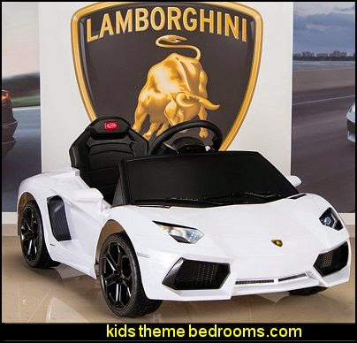 Lamborghini Aventador 6V Ride On Kids Battery Powered Car
