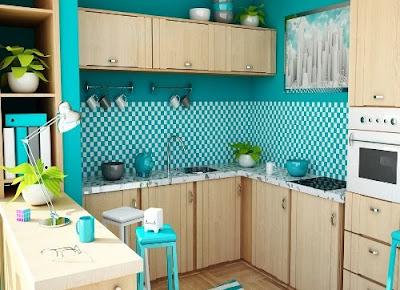 Tata Interior Kitchen Set Untuk Dapur Yang Minimalis