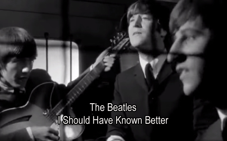 I Should Have Known Better The Beatles Lyrics Chords And Video
