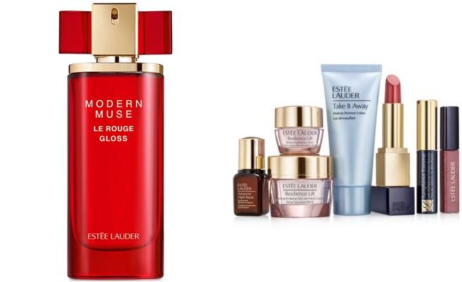 Macys: $60 (Reg. $120) Estée Lauder Modern Muse Le Rouge Gloss 3.4 oz + Get $5 Macy's Money + Free 7-pc Beauty Gift Set + Free Ship!