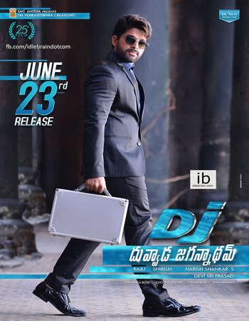 Duvvada Jagannadham 2017 UNCUT Hindi Dual Audio  Full Movie Download