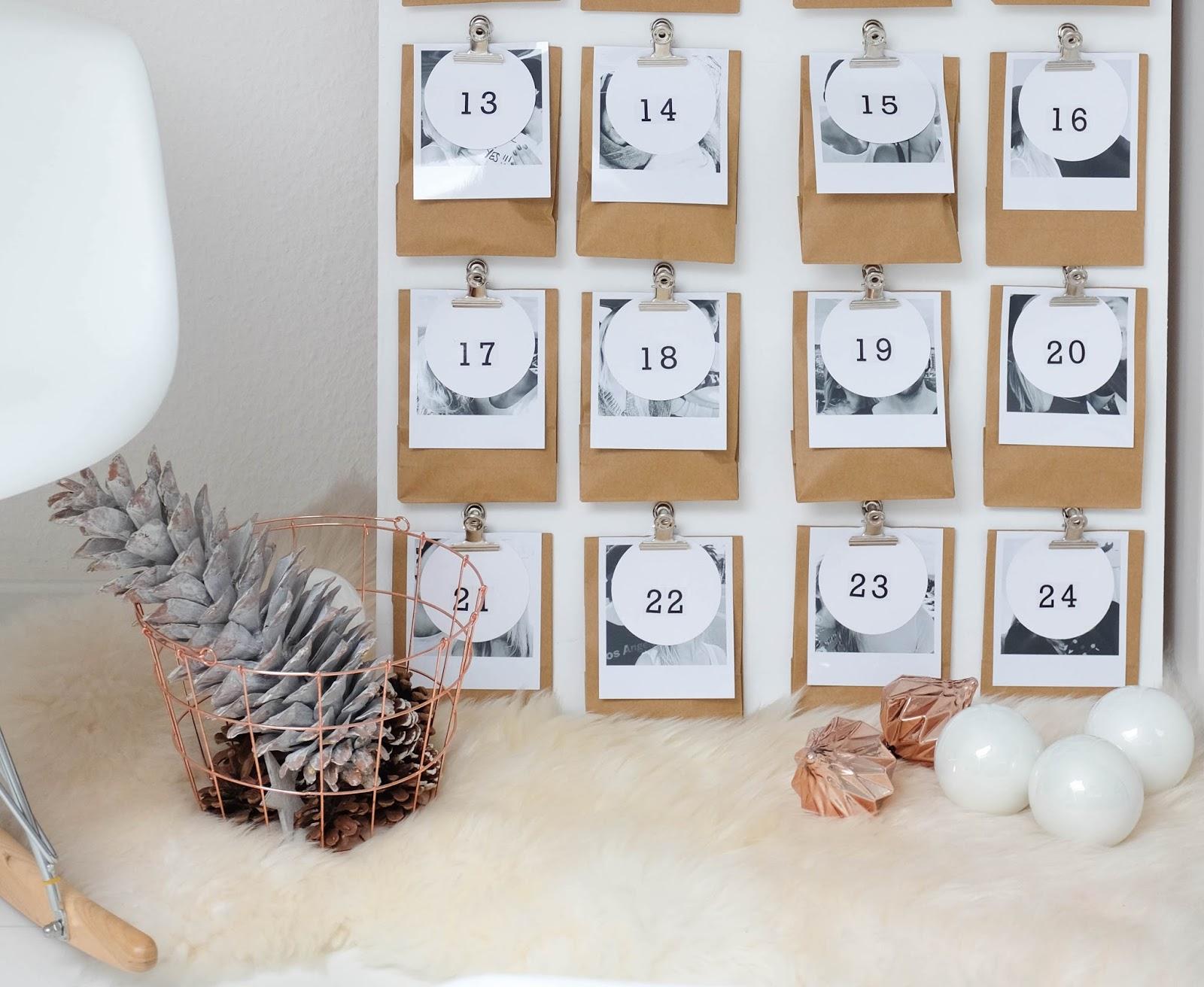 diy adventskalender mit fotos victoria 39 s little secrets. Black Bedroom Furniture Sets. Home Design Ideas