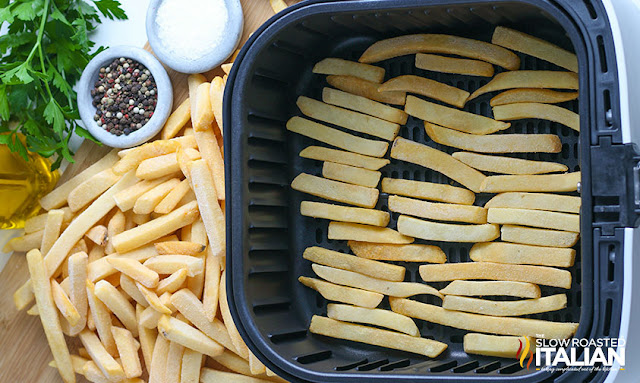 frozen fries in air fryer