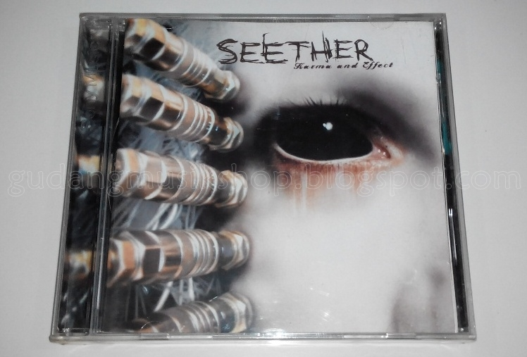 cd seether karma and effect gudang musik shop