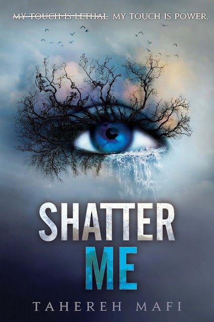 News: Nova capa de Shatter Me, by Tahereh Mafi. 8