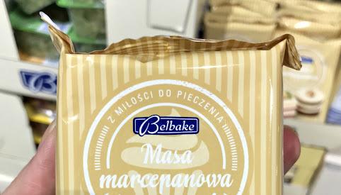 Masa marcepanowa, Lidl
