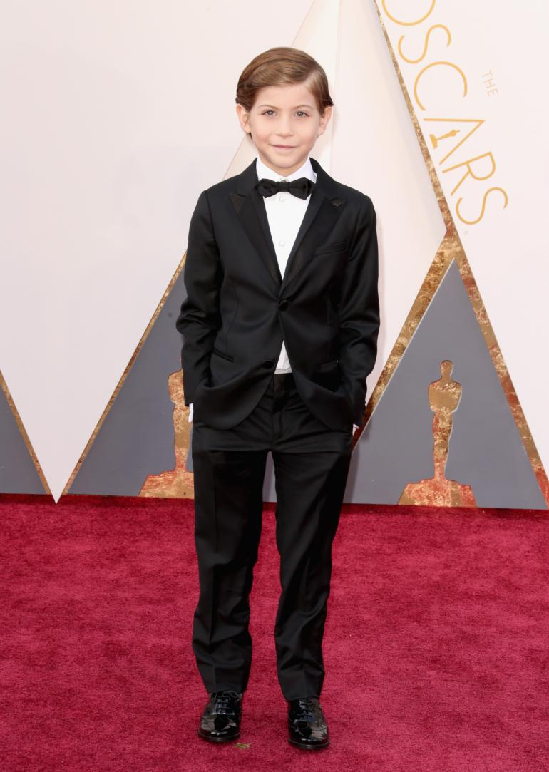 Jacob Tremblay at The 88th Academy Awards, February 28, 2016