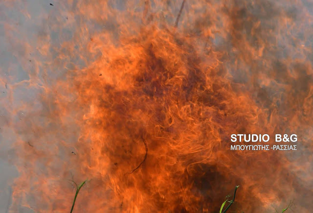 Υψηλός ο κίνδυνος πυρκαγιάς και την Δευτέρα 6 Αυγούστου για την Αργολίδα