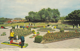 Craz-e-Golf at Skegness by E.T.W Dennis & Sons Ltd S.2142 postally used on 21 June 1977